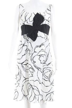 Barbara Schwarzer A-lijn jurk volledige print elegant