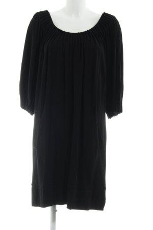 Barbara Schwarzer A-lijn jurk zwart zakelijke stijl