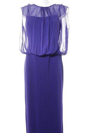Barbara Schwarzer Abendkleid braunviolett Elegant