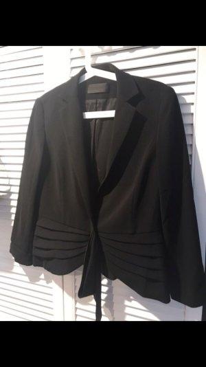 Barbara Schwarzer Tuxedo Blazer black