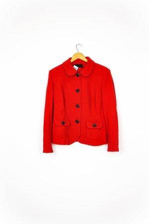 Barbara Schwarzer Short Blazer red-black