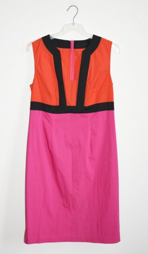 Barbara Schwarzer Sheath Dress multicolored mixture fibre