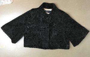 Barbara Schwarzer Bolero black mixture fibre