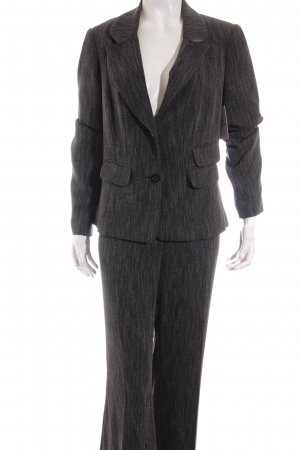 Barbara Schwarzer Trouser Suit black-white business style