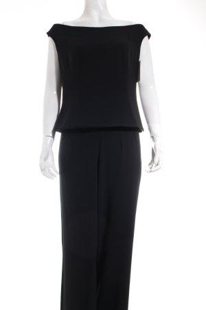 Barbara Schwarzer Kostüm schwarz minimalistischer Stil