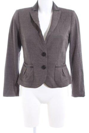 Barbara Schwarzer Short Blazer light grey flecked elegant