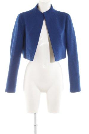 Barbara Schwarzer Kurz-Blazer blau Business-Look