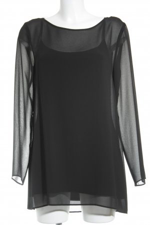 Barbara Schwarzer Long Sleeve Blouse black elegant