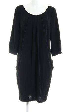 Barbara Schwarzer Jurk met lange mouwen zwart zakelijke stijl