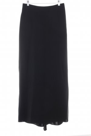 Barbara Schwarzer Maxi gonna nero stile professionale