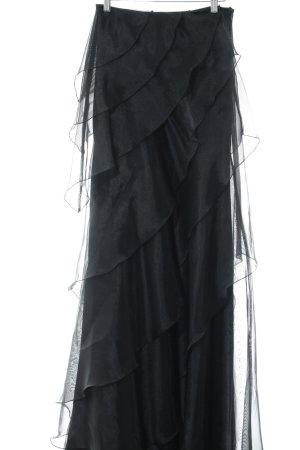 Barbara Schwarzer Jupe longue noir élégant
