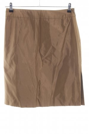 Barbara Schwarzer Miniskirt bronze-colored business style