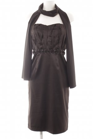 Barbara Schwarzer Off-The-Shoulder Dress black elegant