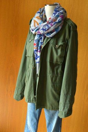 BARBED M65 unisex Parka Fieldjacket Army Feldjacke Gr.M oversize Etikett short