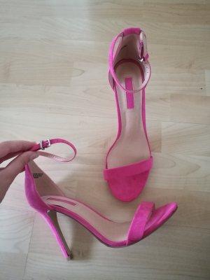 Barbie pinke Riemchen Heels Sandaletten