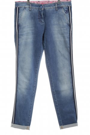 Barbone Jeans carotte bleu style décontracté
