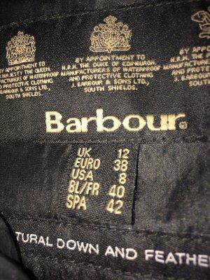 Barbour Daunenjacke schwarz