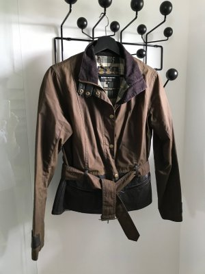 BARBOUR GOLD LABEL Ladies' Drayton Waxed Cotton & Leather Jacket