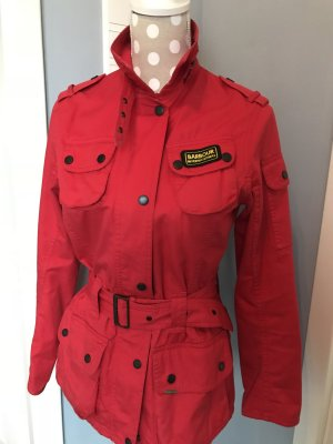 Barbour International Damen Jacke 36 rot