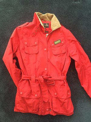 Barbour Outdoor Jacket red-beige polyester