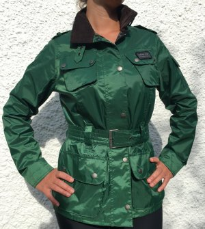 Barbour Giubbino verde bosco-marrone