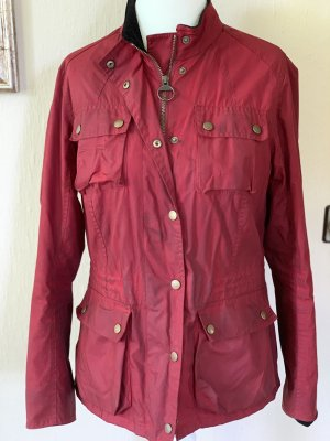 8e927d43d Barbour Veste imperméables rouge foncé-rouge