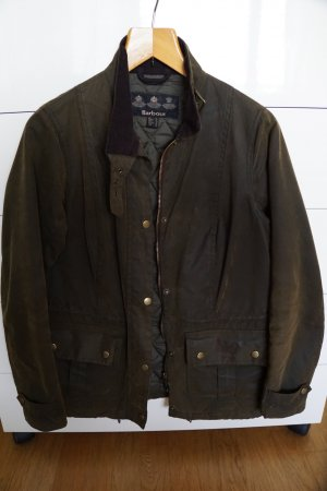 Barbour Outdoor Jacket dark green cotton