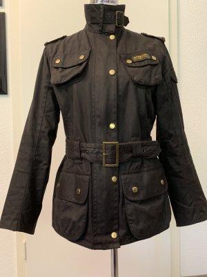 Barbour Waxed Jacket dark blue