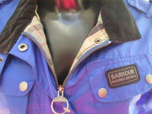 Barbour Jacke Gr. 38 blau