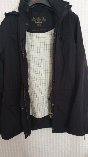 Barbour Outdoor Jacket black-taupe mixture fibre