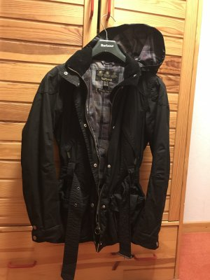 Barbour Kurzjacke Flyweight Rebel Schwarz