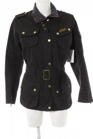 Barbour Kurzjacke schwarz Casual-Look