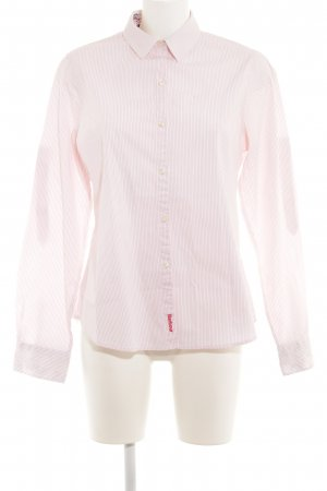 Barbour Long Sleeve Shirt pink-pink pinstripe casual look