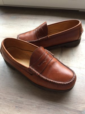 Barbour Scarpa slip-on cognac