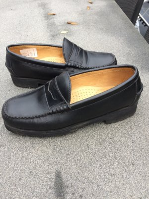 Barbour Mocassins noir