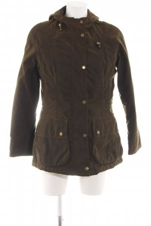 Barbour Military Jacket brown casual look