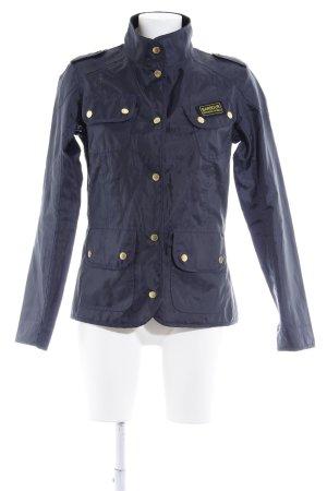 Barbour Military Jacket dark blue navy look