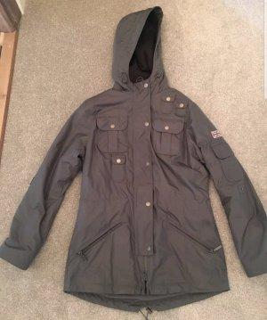 Barbour Jacket brown-dark green