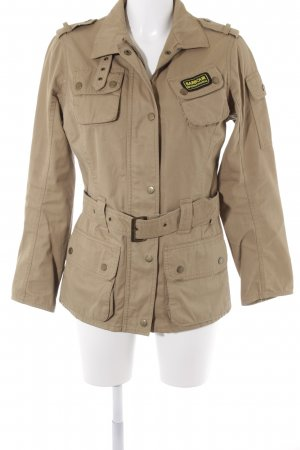 Barbour Outdoorjacke sandbraun-beige Casual-Look