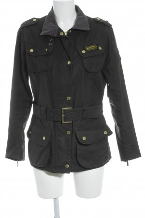 Barbour Outdoorjacke schwarz Casual-Look