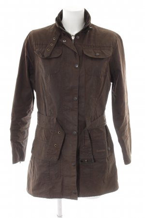 Barbour Parka braun Casual-Look