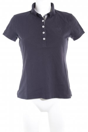 Barbour Polo-Shirt dunkelblau Casual-Look