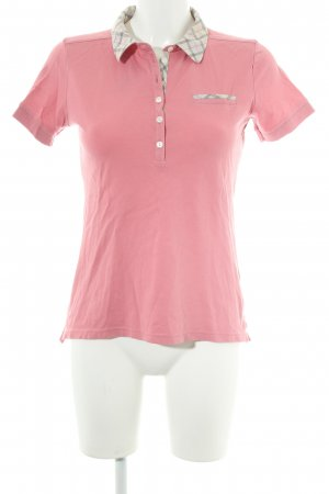Barbour Polo-Shirt Karomuster Casual-Look