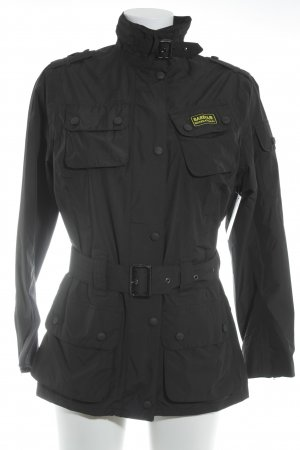 Barbour Regenjacke schwarz Casual-Look