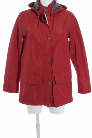 Barbour Regenjacke ziegelrot Casual-Look