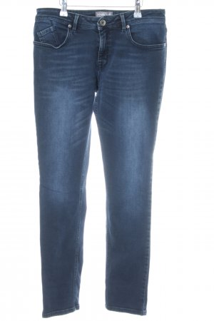 Barbour Röhrenjeans dunkelblau Jeans-Optik