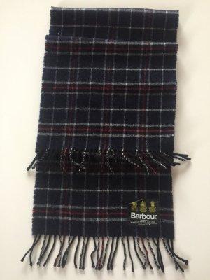 Barbour Bufanda de lana azul oscuro