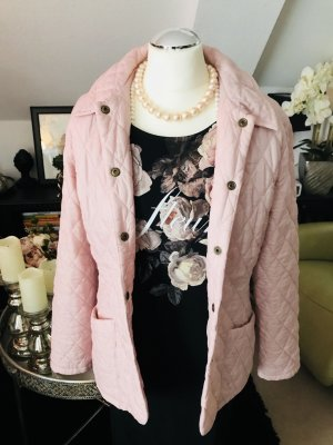 Barbour stepp Jacke rosa gr 36-38