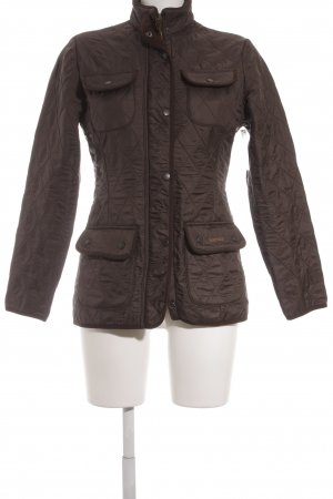 Barbour Steppjacke braun Casual-Look