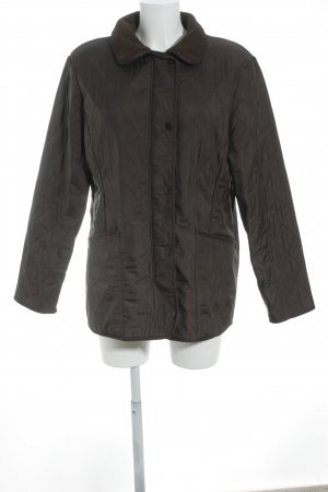 Barbour Steppjacke braun Steppmuster Casual-Look